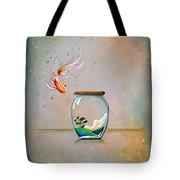 Curiosity Tote Bag by Cindy Thornton