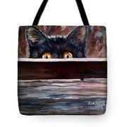 Curiosity Tote Bag by Julie Brugh Riffey