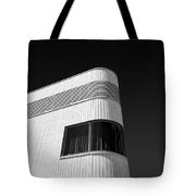 Curved Window Tote Bag by Dave Bowman