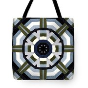 Daddy's Denims Quilt Tote Bag by Barbara Griffin