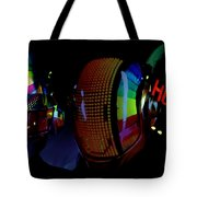 Daft Punk Painting Tote Bag by Marvin Blaine