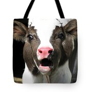 Dairy Cow Tote Bag by Christina Rollo