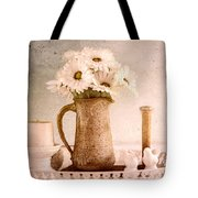 Daisies Tote Bag by Betty LaRue