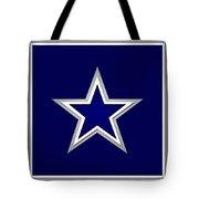 Dallas Cowboys Tote Bag by Tony Rubino