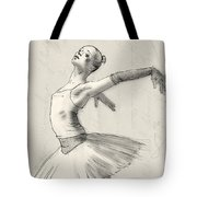 Dance Tote Bag by H James Hoff