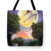 Dance of the Moon Fairy Tote Bag by Garry Walton