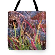 Dance Of The Wild Grass Tote Bag by Feva  Fotos