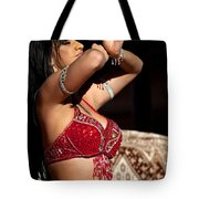 Dancer - In The Spirit Of The Dance Tote Bag by Michelle Wiarda