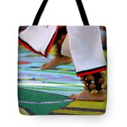 Dancing Feet Tote Bag by Henrik Lehnerer