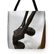 DANCING FEMALE FIGURE Tote Bag by Daniel Hagerman