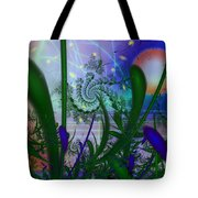 Dancing Fireflies Tote Bag by Faye Giblin