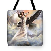Dancing In Glory Tote Bag by Tamer and Cindy Elsharouni