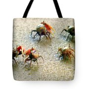 DANCING of the FIDDLERS Tote Bag by KAREN WILES