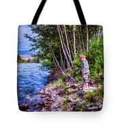 Dangerous Beauty Tote Bag by Omaste Witkowski