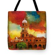 Darbar Mahal Tote Bag by Catf