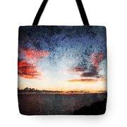 Dark Angel Tote Bag by Stelios Kleanthous