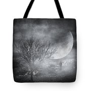 Dark night sky paradox Tote Bag by Taylan Soyturk