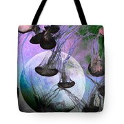 Dark Side Of The Moon 5D24939 Painterly p180 Tote Bag by Wingsdomain Art and Photography