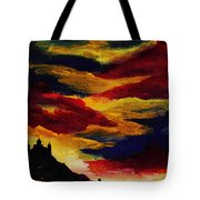 Dark Times Tote Bag by Anastasiya Malakhova