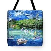 Darling Harbor II Tote Bag by Jamie Frier