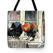 darling its cold outside Tote Bag by Hilde Widerberg