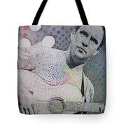 Dave Matthews All the Colors Mix Together Tote Bag by Joshua Morton
