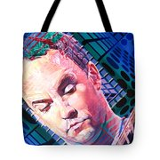 Dave Matthews Open Up My Head Tote Bag by Joshua Morton
