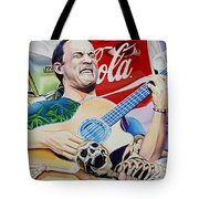 Dave Matthews Seek Up Tote Bag by Joshua Morton