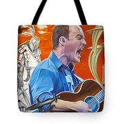 Dave Matthews The Last Stop Tote Bag by Joshua Morton
