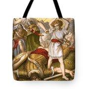 David Slaying Goliath Tote Bag by English School