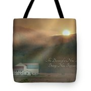 Dawn Tote Bag by Lori Deiter