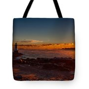 Dawn rises Tote Bag by Jeff Folger