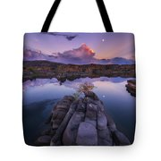 Days End Tote Bag by Peter Coskun