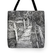 Days Gone By Tote Bag by Janet Felts