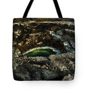 Dead Sea Sink Holes Tote Bag by Dan Yeger
