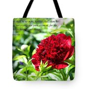 Death Shall Be No More Tote Bag by Deena Stoddard