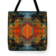 Decalcomaniac Intersection 2 Tote Bag by Otto Rapp