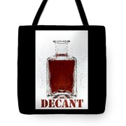 Decant Tote Bag by Frank Tschakert
