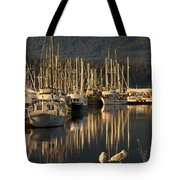 Deep Bay Tote Bag by Randy Hall