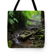 Deep In The Woods Tote Bag by Bill Cannon
