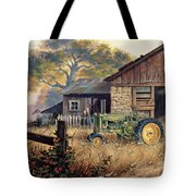 Deere Country Tote Bag by Michael Humphries