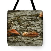 Deflated Tote Bag by Rob Mclean