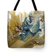 Deliver Tote Bag by Karina Llergo