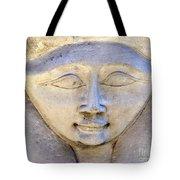 Dendara Carving 2 - Hathor Tote Bag by Brian Raggatt