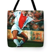 Dennis Bergkamp 2 Tote Bag by Paul  Meijering