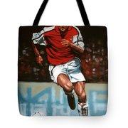 Dennis Bergkamp Tote Bag by Paul Meijering
