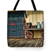 Depot Wagon Tote Bag by Kenny Francis