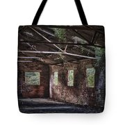 Derelict Building Tote Bag by Amanda Elwell