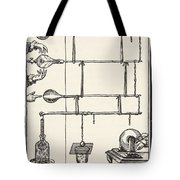 Descarges Electriques Dan Lai Rarefie Tote Bag by French School
