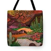 Desert Evening Tote Bag by Vivian Rayford